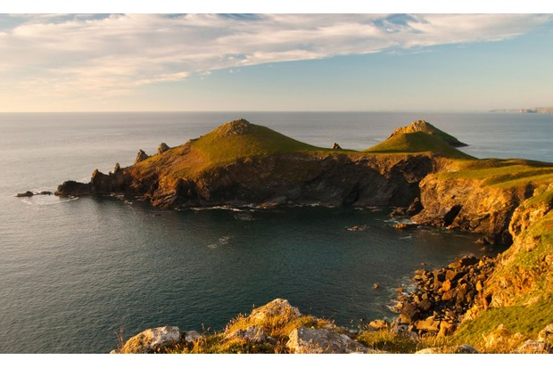 """""""At the going down of the sun and in the morning, we will remember them,"""" wrote poet Laurence Binyon as he sat on the cliffs at Pentire Point in 1914"""
