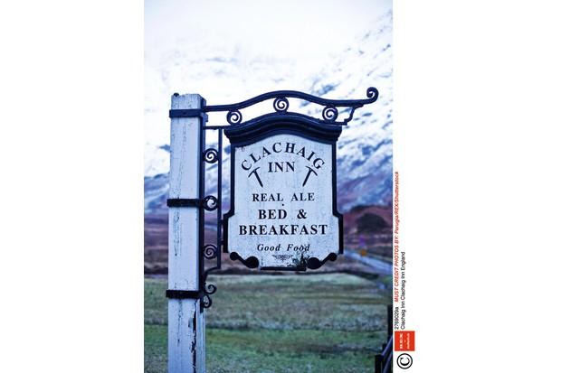 Mandatory Credit: Photo by Jonathan Perugia/REX/Shutterstock (2769029a)Clachaig Inn EnglandClachaig Inn