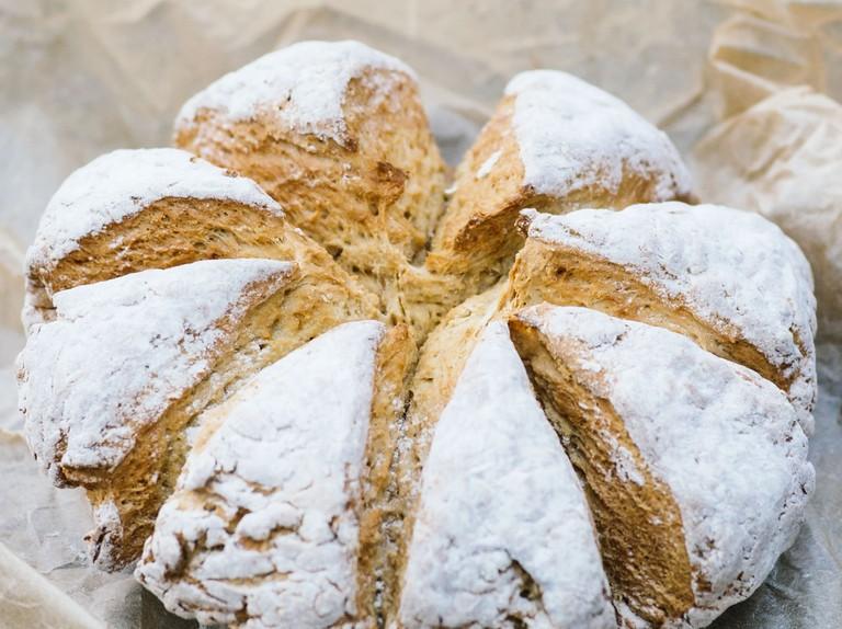 Soda bread roll recipe