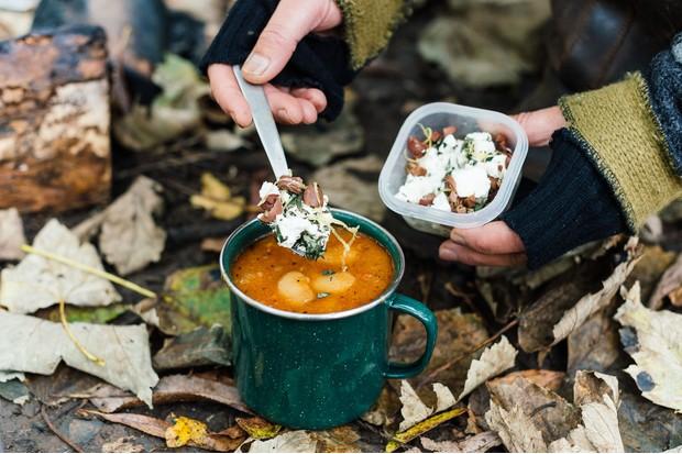 Feta and olive garnish (Photo by: Jason Ingram)