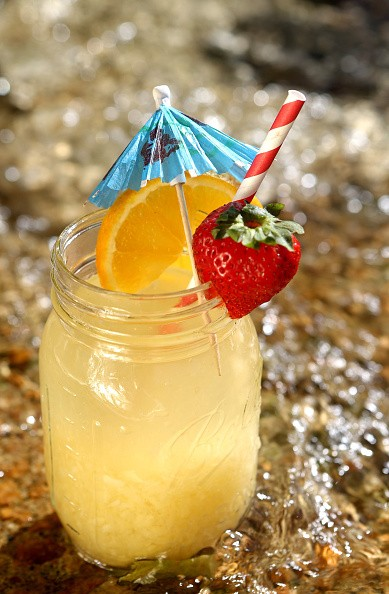 Pina Colada Sangria photographed on Tuesday, June 13, 2017. (Laurie Skrivan/St. Louis Post-Dispatch/TNS via Getty Images)