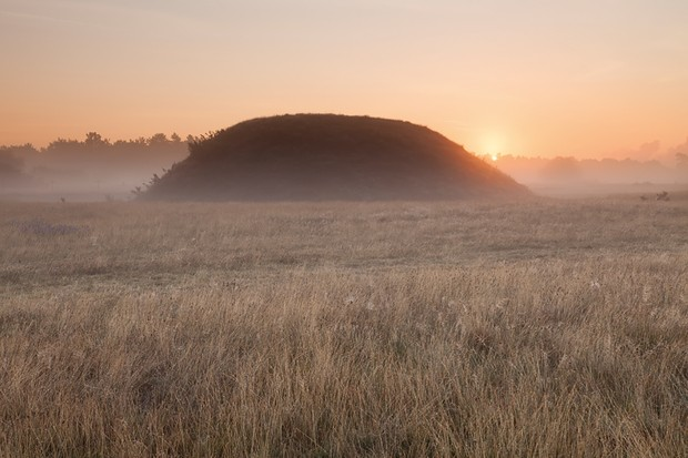 Sutton Hoo is thought to be the final resting spot of King Rædwald of East Anglia