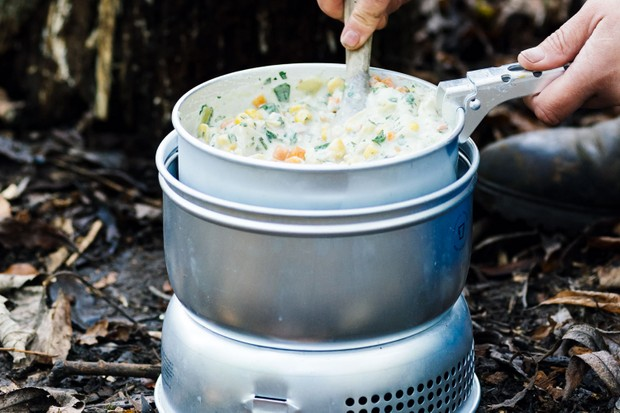 Vegetable and bacon chowder recipe