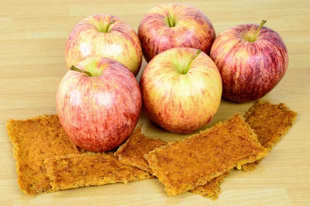 Apples-fruit-leather