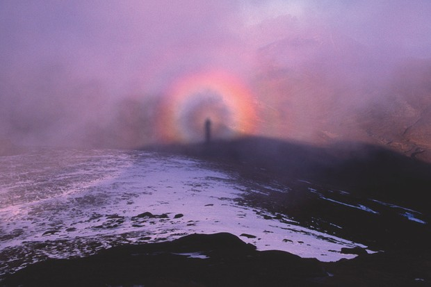 Brocken Spectre in the Mountains of Mourne
