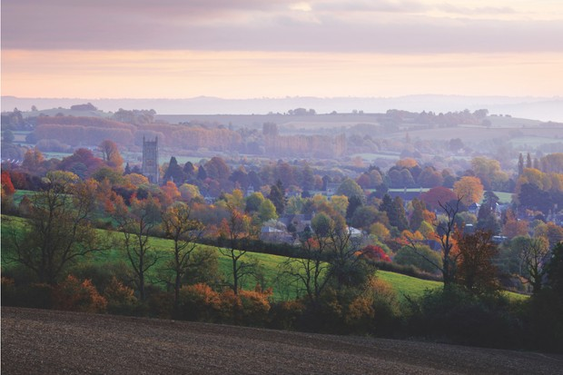 Chipping Campden in autumn