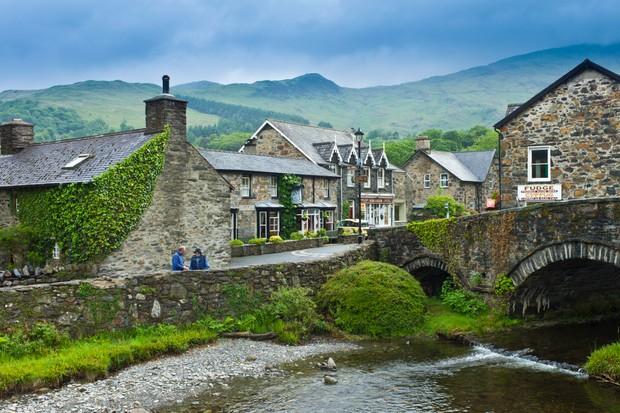 Beddgelert Village, Wales