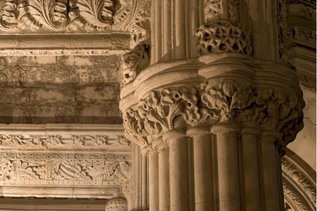 Rosslyn Chapel interior detail