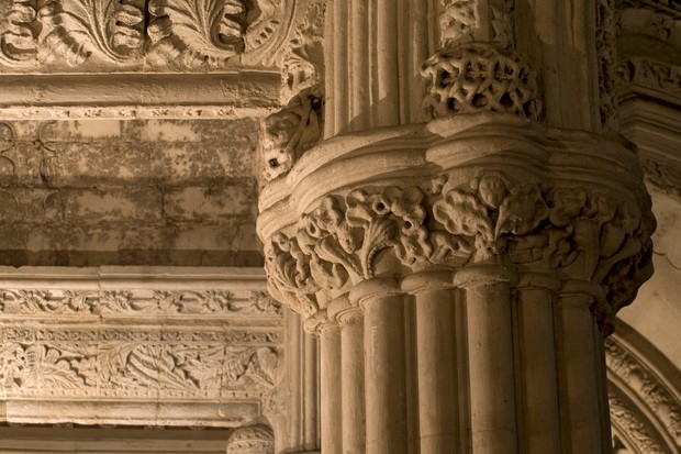 Rosslyn Chapel interior detail