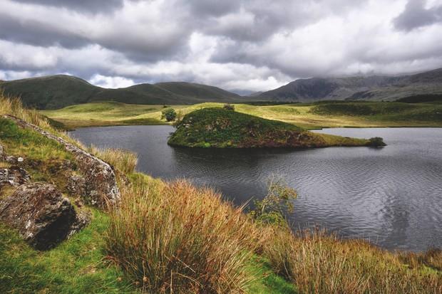 Llyn y Dywarchen, Gwynedd