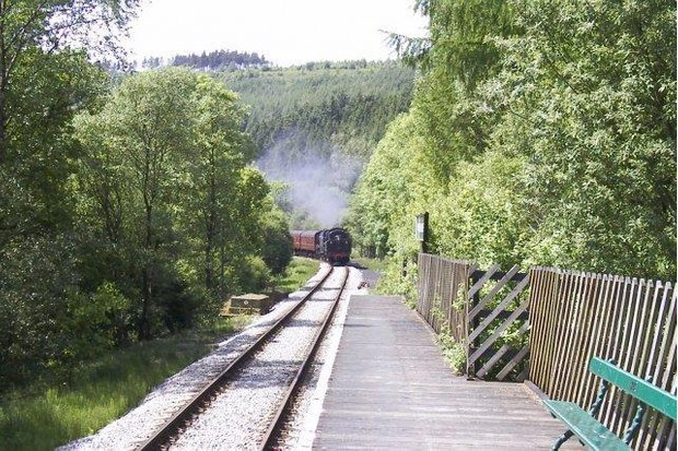 Newton Dale Halt station is right in the middle of the North Yorkshire Moors (Geograph)