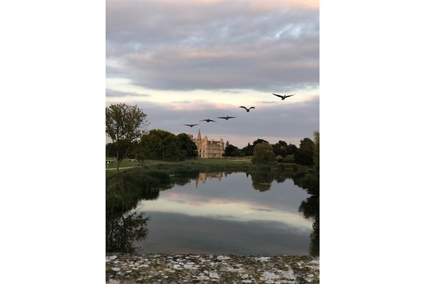 'Burghley House fly by' by Emma Sanders