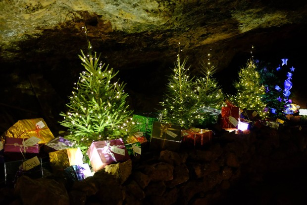 Christmas in Clearwell Caverns