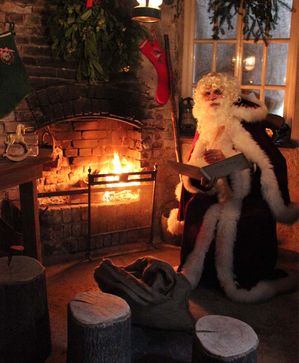Father Christmas Heligan