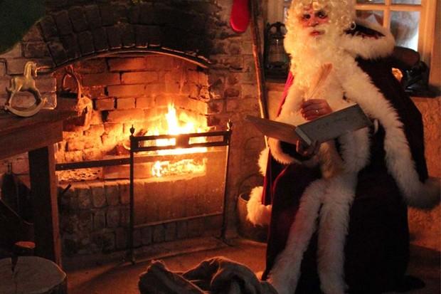 Father Christmas Heligan