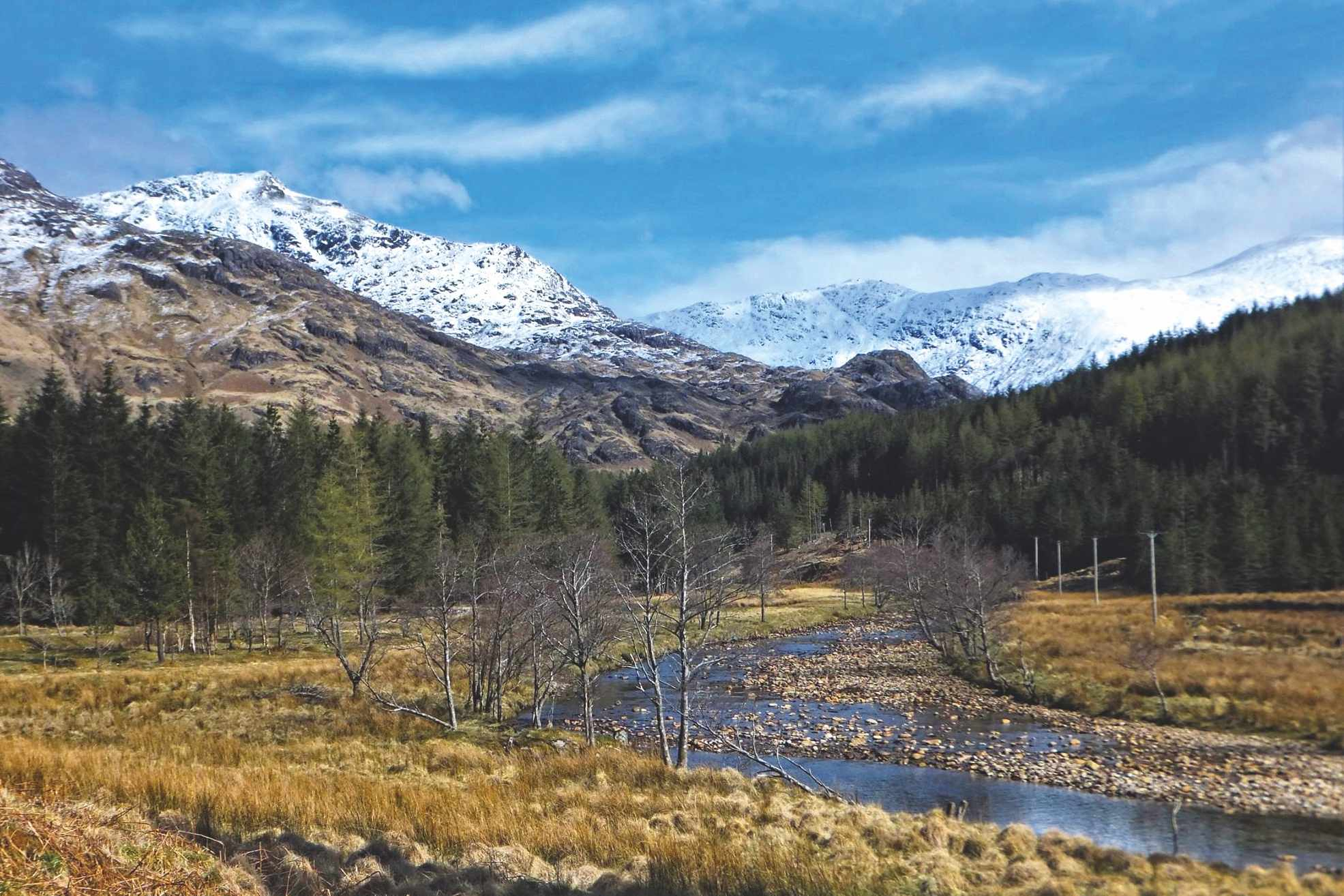 Glen Finnan - looking north
