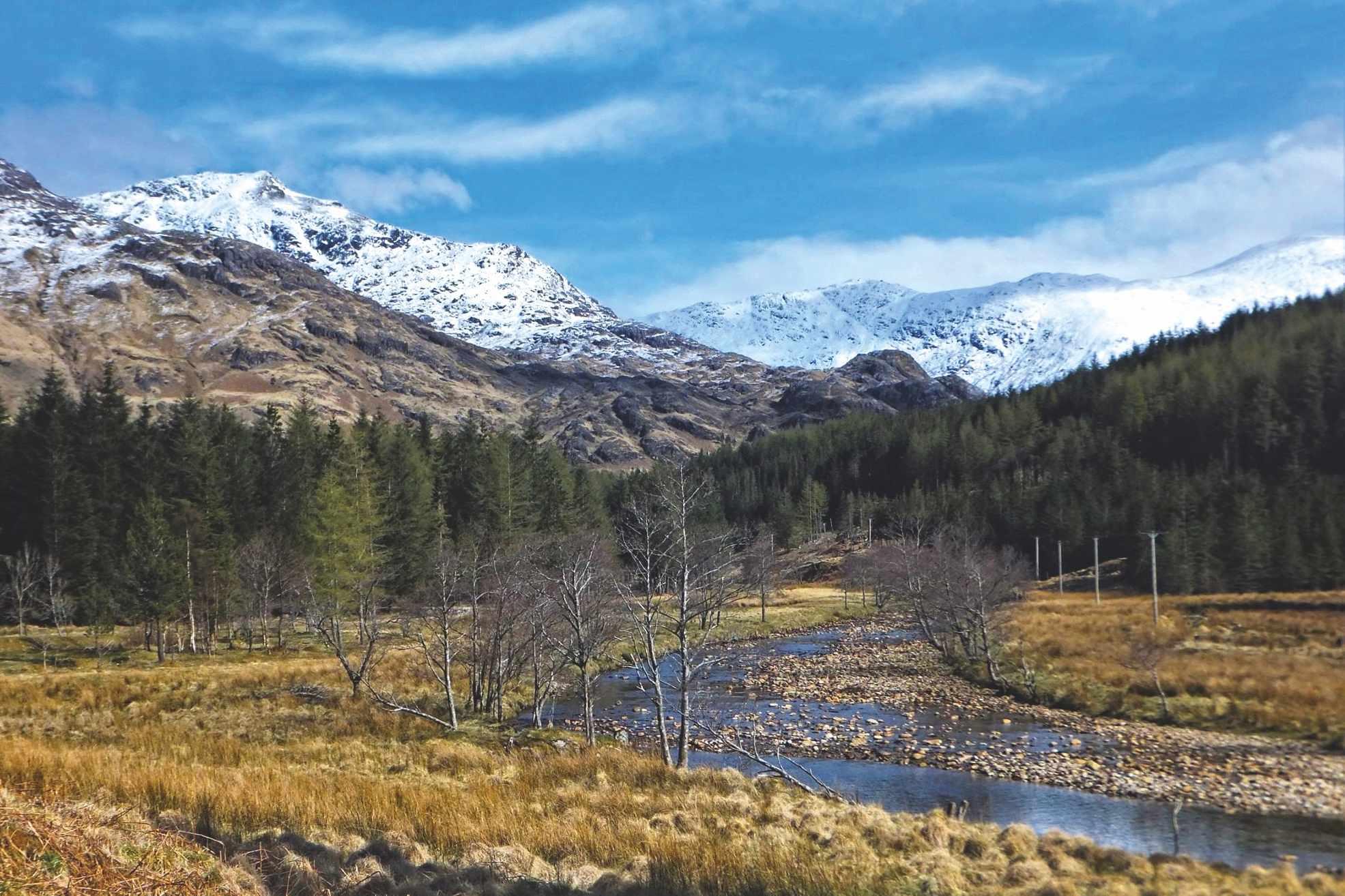 Glen Finnan - looking north