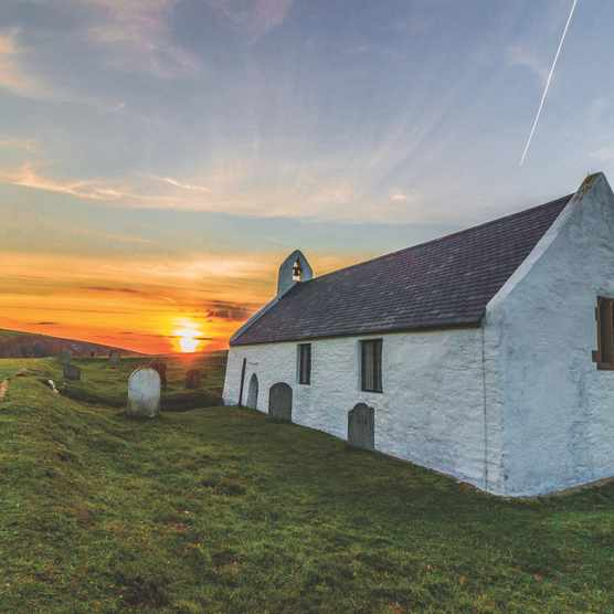 Mwnt church, Wales
