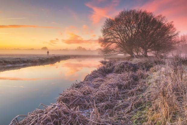 River Stour Dedham Vale Essex sussex