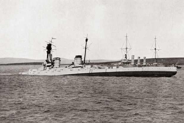 Scapa Flow ship