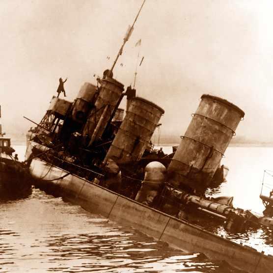 Sunken Scapa Flow