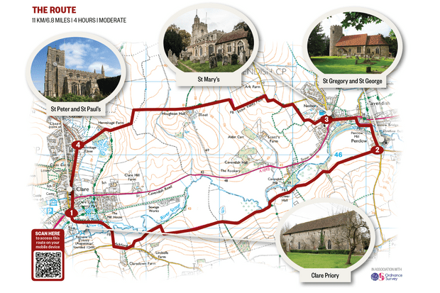 Stour Valley map