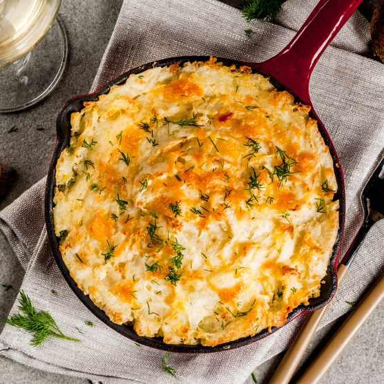 Shepherds pie recipe (Photo by: Rimma Bondarenko via Getty Images)