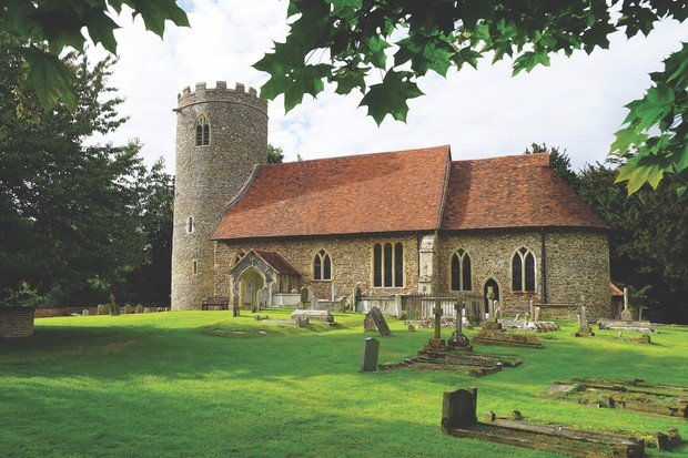 The Church of St Gregory and St George, Pentlow, Essex