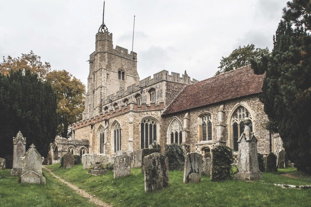 St Mary's in Cavendish