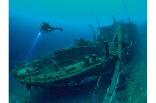 Wreck of Scapa Flow