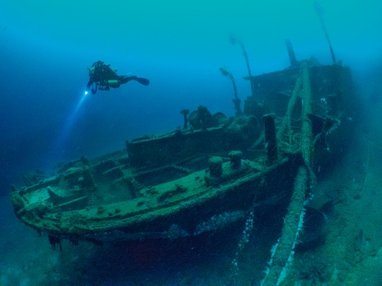 Wreck of Scapa Flow