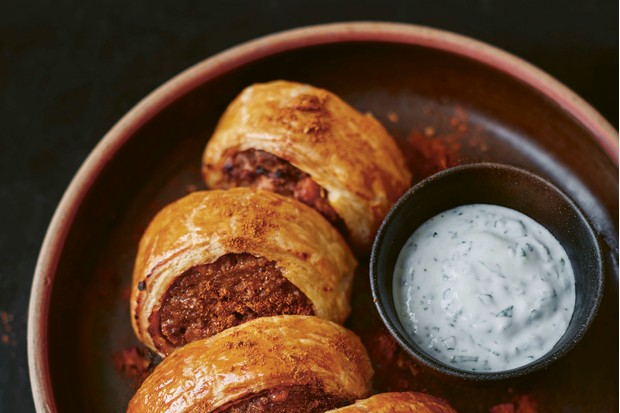 The Orchard Cook_Quince and lamb sausage rolls