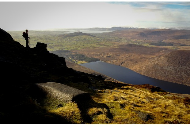 Silent Valley from Slieve Binnian in the Mourne Mountains ©Jake Graham
