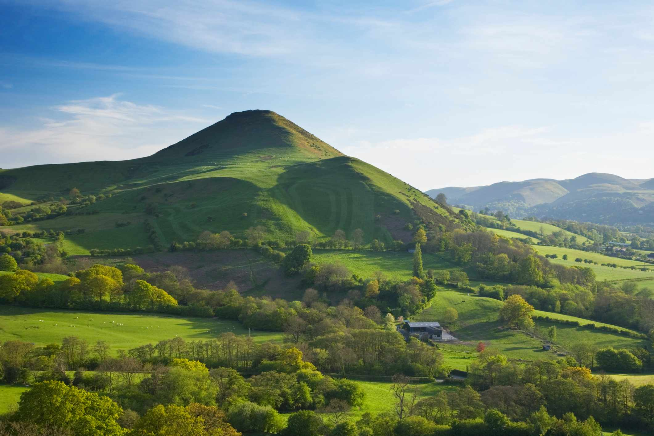 Caer Caradoc Hill. Shropshire. England. UK ©Getty