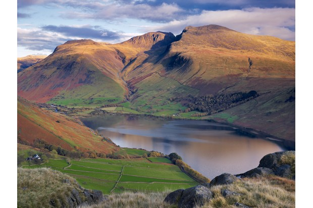 Scafell Pike and Wastwater in Wasdale Valley, Lake District, Cumbria ©Getty
