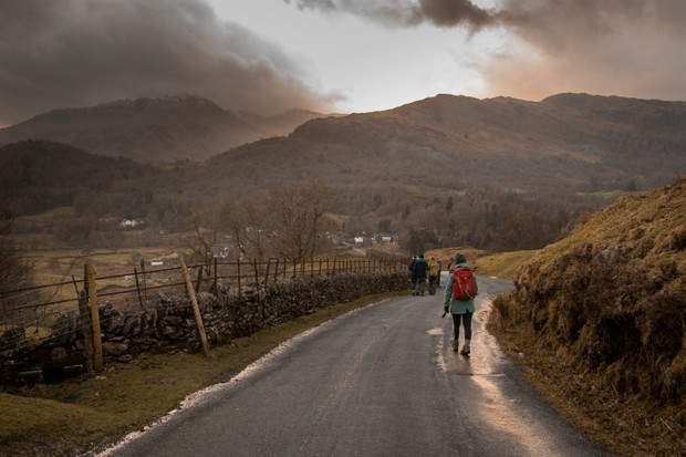 The road to Elterwater, Lake District, Cumbria ©Jake Graham