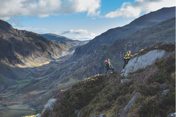 Snowdonia's stately mountains offer the perfect 'big challenge', jaw-dropping views and an unbeatable sense of achievement ©Getty