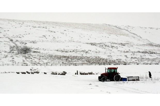 Heavy snow UK