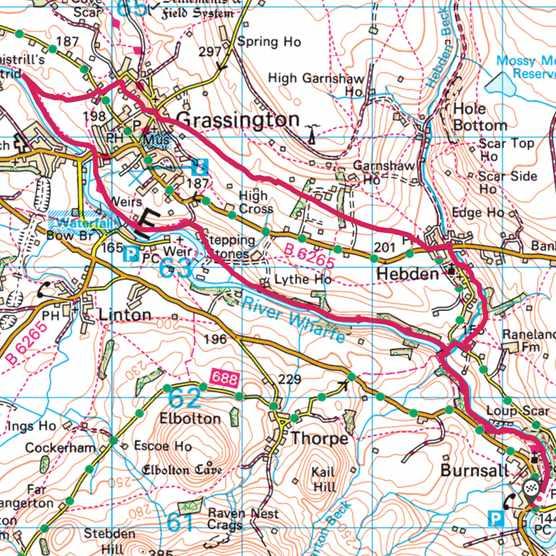 Grassington map