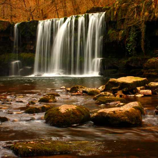 Waterfall Country, Vale of Neath, Wales