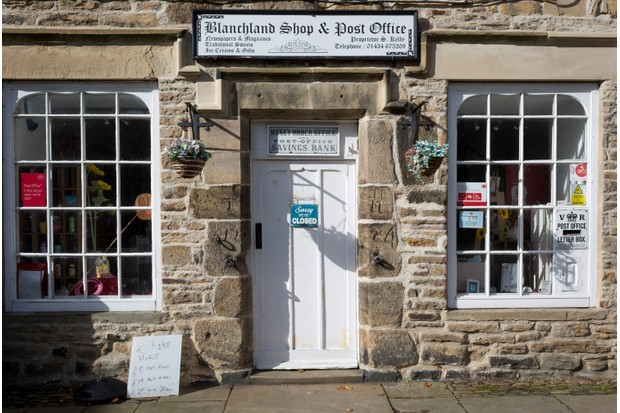 the local shop and post office in the Northumbrian village of Blanchland (Getty)