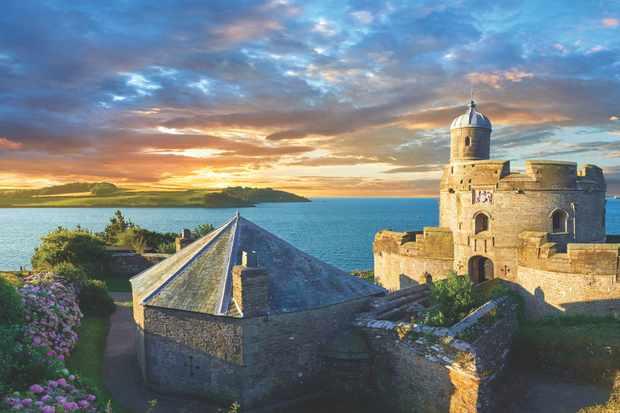 St Mawes Castel, Cornwall