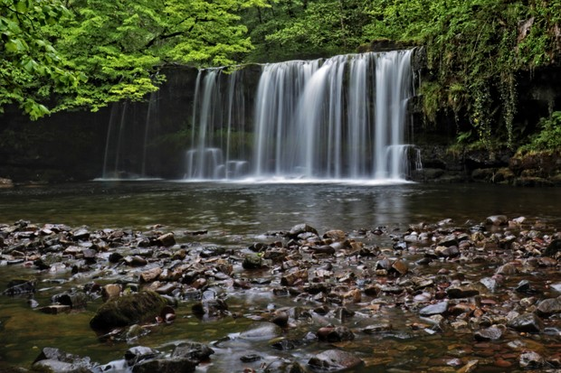 Spring in Waterfall Country, Vale of Neath, Wales