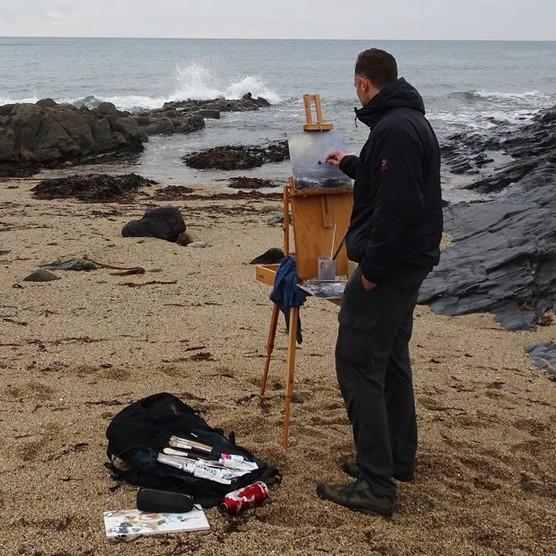 Painter Tony Hinchliffe