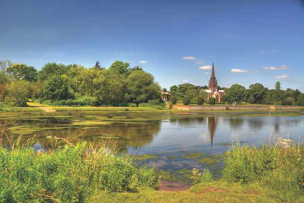 Chapel in Clumber Park near Worksop, Nottinghamshire