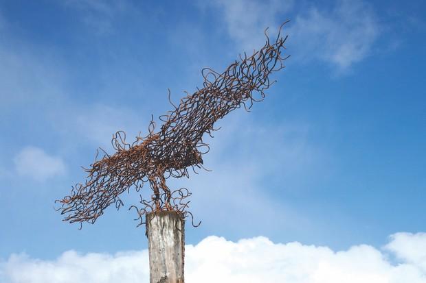 Osprey Sculpture, Loch Ard Forest