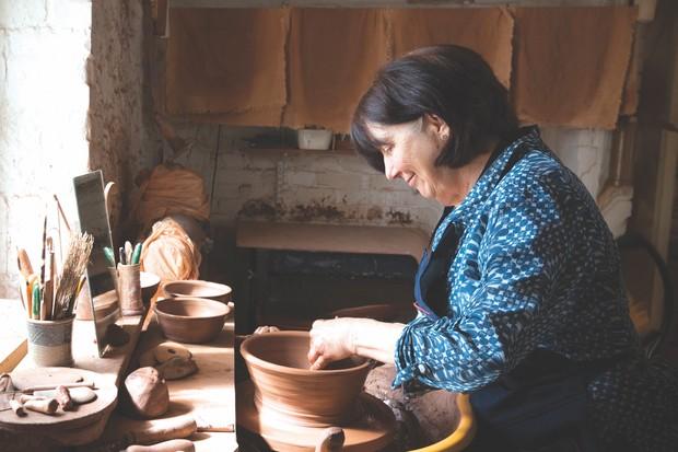 Potter Penny Simpson, Dartmoor Artisan Trail