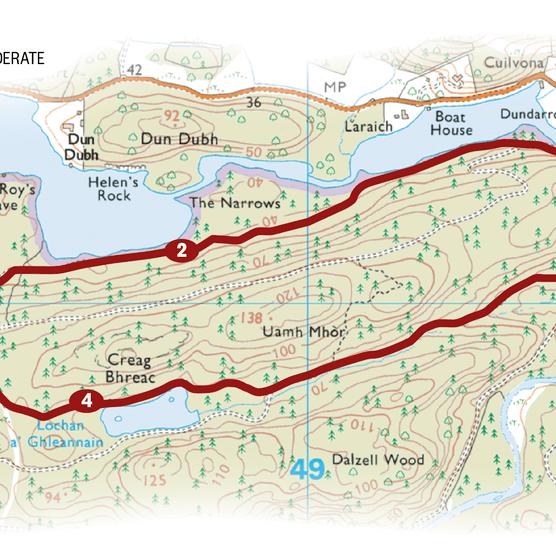 Loch Ard map