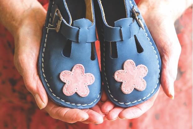 Shoe maker Alison Haite, Dartmoor Artisan Trail
