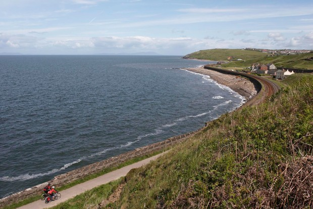 Solway Coastal cycling, National Route 72